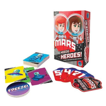 The Haywire Group Mars Needs Heroes! Card Game - Card Game by Haywire Group (160)
