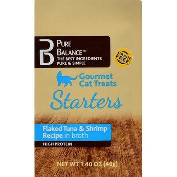 Us Pet Nutrition USPN Pure Balanceâ ¢ Gourmet Cat Treats, Flaked Tuna and Shrimp 1.4oz