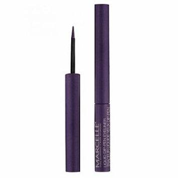 Marcelle Waterproof Liquid Dip-Pen Eyeliner, Purple, 0.05 Ounce