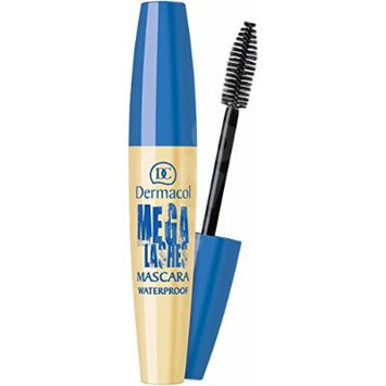 Dermacol Mega Lashes Waterproof Mascara- BLACK 12.5 ml