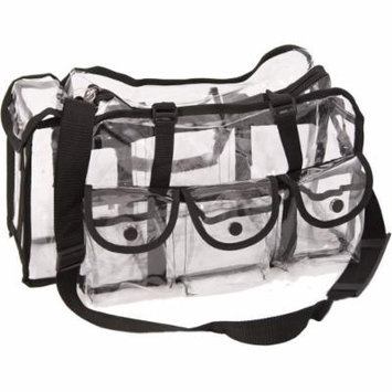 Casemetic Aleardo Large Carry Clear Set Makeup Bag, 2 Pound