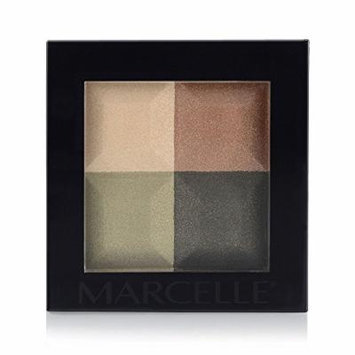 Marcelle Eyeshadow Quad, Jungle Fever, 4.60 Gram