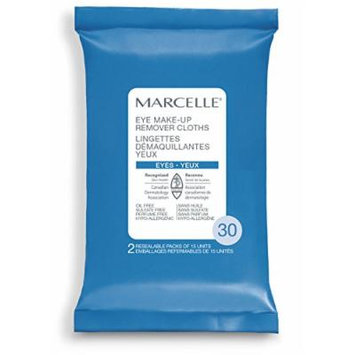 Marcelle Eye Makeup Remover Cloths, 30 Count