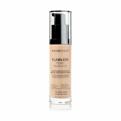Marcelle Flawless Foundation, Natural Beige, 0.91 Ounce