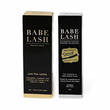 Babe Lash Eyelash Serum Bundle (2 milliliter and Mascara)