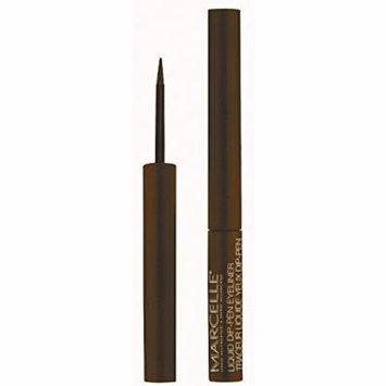 Marcelle Waterproof Liquid Dip-pen Eyeliner, True Brown, 0.05 Ounce