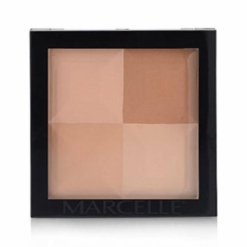 Marcelle Quad Pressed Powder, Dark, 12.8 Gram