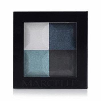 Marcelle Eyeshadow Quad, Midnight Seas, 4.60 Gram