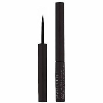 Marcelle Waterproof Liquid Dip-Pen Eyeliner, Blackest Black, 0.05 Ounce