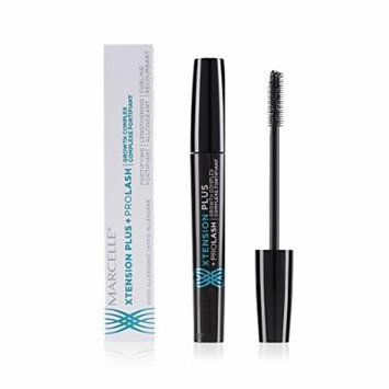 Marcelle Xtension Plus+ Prolash Growth Complex Mascara, Black, 0.3 Ounce