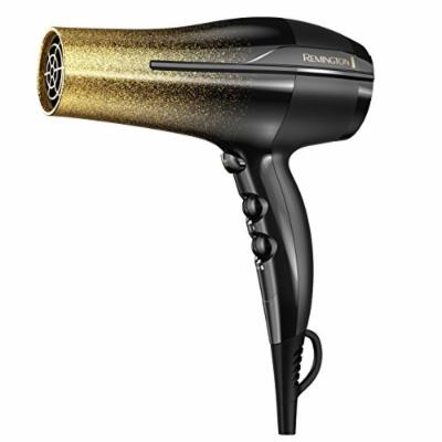 Remington Titanium Hair Dryer, Black & Gold Glitter, D5951