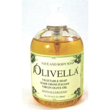 Olivella Liquid Soap 16.9 oz. Pump (Case of 6)
