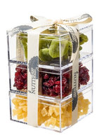The Nuttery Ny The Nuttery Premium Dried Fruit Gourmet Gift Tower ~ Kiwi ~ Cranberry ~ Pineapple