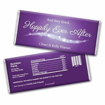 Wedding Favor Personalized Chocolate Bar Wrappers -