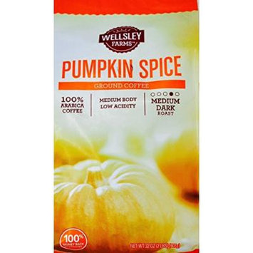 Wellsley Farms Pumpkin Spice Ground Coffee, 32 OZ