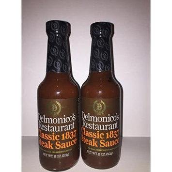 Delmonico's Restuarant 2 Pack Classic 1837 Steak Sauce
