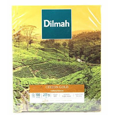 Dilmah Ceylon Gold 100 Tea Bags (Set of 2 boxes)