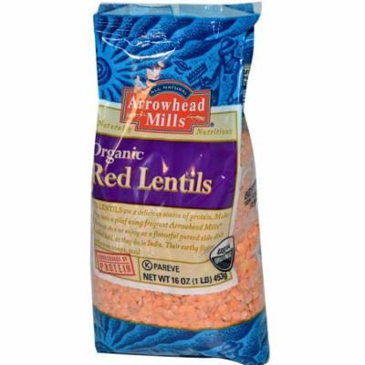 Arrowhead Mills, Organic Red Lentils, 16 oz (pack of 4)