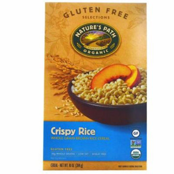 Nature's Path, Organic Crispy Rice Cereal, 10 oz (pack of 4)