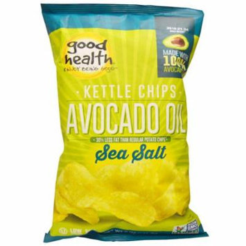 Good Health Natural Foods, Kettle Chips, Avocado Oil, Sea Salt, 5 oz (pack of 6)