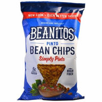 Beanitos, Pinto Bean Chips, Simply Pinto, 6 oz (pack of 4)