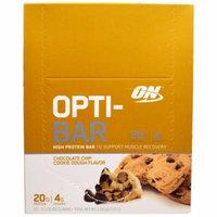 Optimum Nutrition, Opti-Bar High Protein Bar, Chocolate Chip Cookie Dough, 12 Bars - 2.1 oz (60 g) Each(pack of 2)