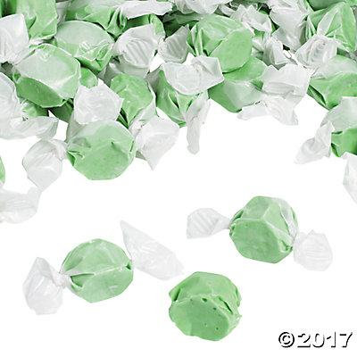 Green Salt Water Taffy Candy Pack of 3