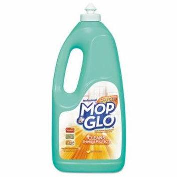 MOP & GLO Triple Action Floor Cleaner, 64 oz Bottles - Includes six per case.