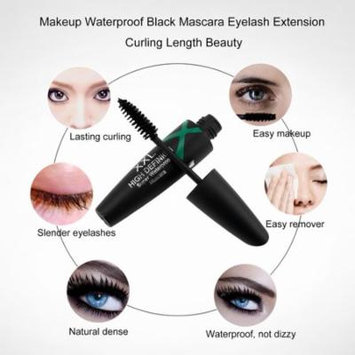 Makeup Waterproof Black Mascara Eyelash Extension Curling Length Beauty