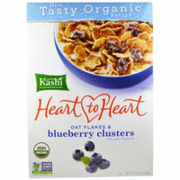Kashi, Heart to Heart, Oat Flakes & Blueberry Clusters, 13.4 oz (pack of 12)