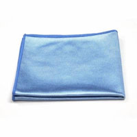 Microfiber Glass Cleaning Cloth, 16in x 16in: 48-Pack