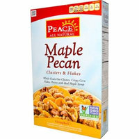 Peace Cereal, Clusters & Flakes, Maple Pecan, 11 oz (pack of 4)