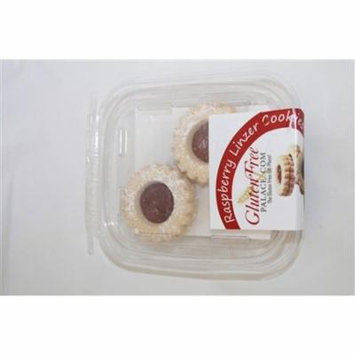 GlutenFreePalace.com Mini Pack Cookies, Raspberry Linzer Cookies, 2 Oz. [2 Pack]
