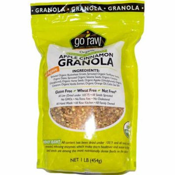 Go Raw, Organic Granola, Apple Cinnamon, 1 lb (pack of 2)