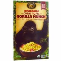 Nature's Path, EnviroKidz, Organic Corn Puffs Gorilla Munch Cereal, 10 oz (pack of 6)