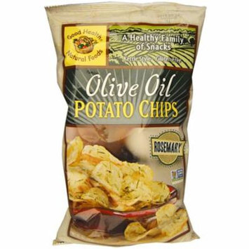 Good Health Natural Foods, Olive Oil Potato Chips, Rosemary, 5 oz (pack of 4)