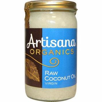 Artisana, Organics, Raw Coconut Oil, Virgin, 14 oz (pack of 4)