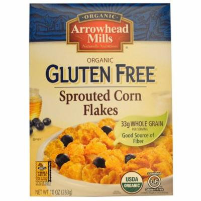 Arrowhead Mills, Organic Gluten Free, Sprouted Corn Flakes, 10 oz (pack of 6)
