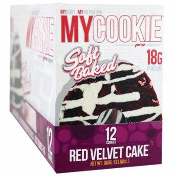ProSupps, My Cookie, Red Velvet Cake, 12 Cookies, 2.82 oz (80 g) Each(pack of 1)