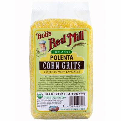 Bob's Red Mill, Organic, Polenta, Corn Grits, 24 oz (pack of 1)