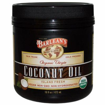 Barlean's, Organic Virgin Coconut Oil, 16 fl oz (pack of 1)