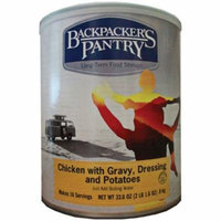 Backpacker's Pantry #10 Can Chicken with Gravy & Potatoes
