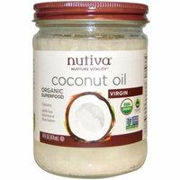Nutiva, Organic Superfood, Coconut Oil, Virgin, 14 fl oz (pack of 6)