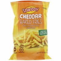 Snikiddy, Baked Fries, Corn & Potato Snacks, Cheddar, 4.5 oz (pack of 2)