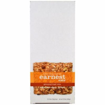 Earnest Eats, Baked Whole Food Bar, Almond Trail Mix, 12 Bars, 1.9 oz (54 g) Each(pack of 1)