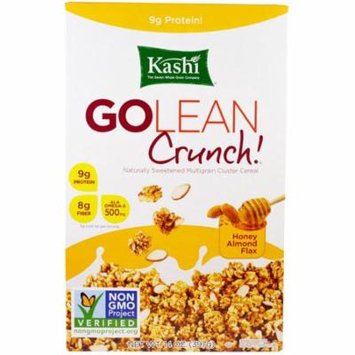 Kashi, GoLean Crunch! Honey Almond Flax Cereal, 14 oz (pack of 2)