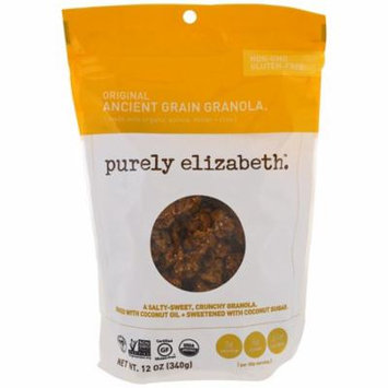 Purely Elizabeth, Organic Ancient Grain Granola, Original, 12 oz (pack of 1)