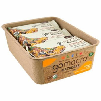 GoMacro, Macrobar, Prolonged Power, Banana + Almond Butter, 12 Bars, 2.3 oz (65 g) Each(pack of 1)