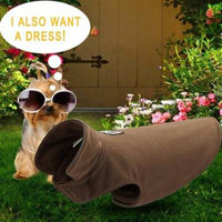 Camel Warm Double-Sided Polar Fleece Dog Coat Puppy Jacket Autumn Winter Dog Clothes Dog Coat