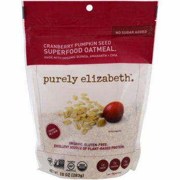 Purely Elizabeth, Superfood Oatmeal, Cranberry Pumpkin Seed, 10 oz (pack of 12)